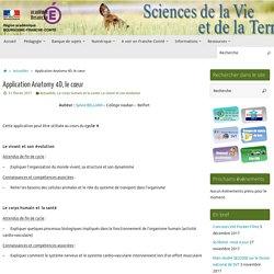 Application Anatomy 4D, le cœur » SVT - Académie de Besançon