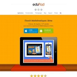 Application Maths 3ème pour iPad, iPhone, Android, Windows 8