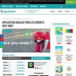 Application anglais pour les enfants : Holy owly