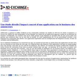 Une étude dévoile l'impact concret d'une application sur le business des annonceurs-%post_id%