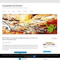 PDF Viewer: une très bonne application pour annoter vos pdf sur Android et iOS