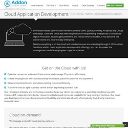Cloud Application Development Services