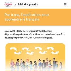 Pas à pas, l'application pour apprendre le français – Le plaisir d'apprendre