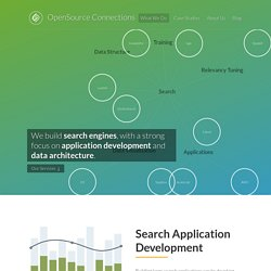OSC — We build search engines, with a strong focus on application development and data architecture