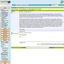 Forum : Trucs et astuces / nouvelle application pour la dyslexie