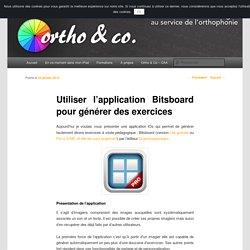 Utiliser l'application Bitsboard pour générer des exercices
