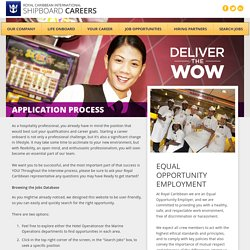Royal Caribbean Shipboard Careers