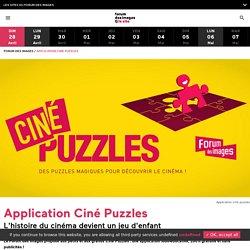 Application Ciné Puzzles