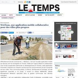 WeClean, une application mobile collaborative pour des villes plus propres
