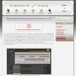 OVERDRIVE MUSIC - Une application musicale collaborative en ligne : Ohmstudio, le top des studios virtuels!