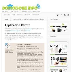 Application Karotz -Zibase