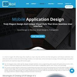 Mobile Application Design Company – Hire Mobile App Designer
