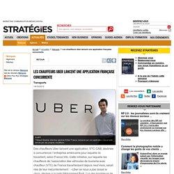 Les chauffeurs Uber lancent une application française concurrente