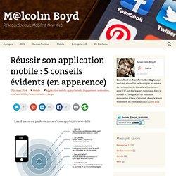 Réussir son application mobile : 5 conseils évidents (en apparence)