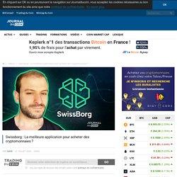 Swissborg : La meilleure application pour acheter des cryptomonnaies ?
