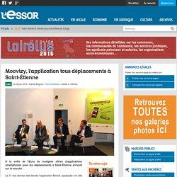 Moovizy, l'application tous déplacements à Saint-Étienne
