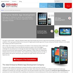 Purpose-Built Custom Smartphone Apps for Enterprises