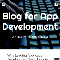 Why Leading Application Development Team In India Uses Git?
