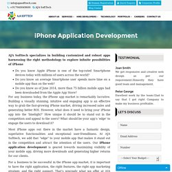 iPhone Application Development Company, India