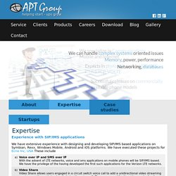 SIP, IMS, Mobile Commerce Enterprise Application Platform Design & Development: APT Software