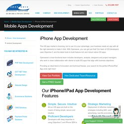 iPhone Application Development - Expert iOS Developers