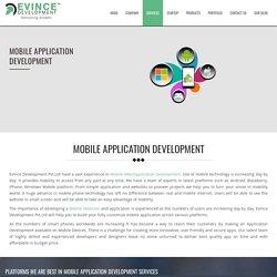 Mobile Application Development - Mobile App Developers