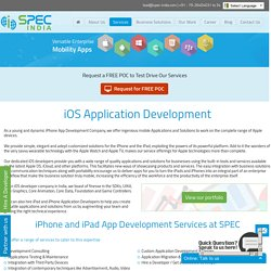 iOS Application Development - Hire iOS App Developer