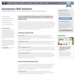 Xicom Business Solutions - Ecommerce & B2C Solutions