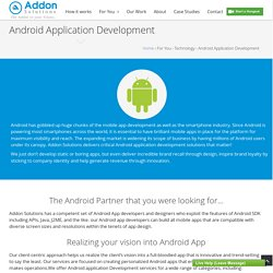 Android Application Development Company, Android App Development india