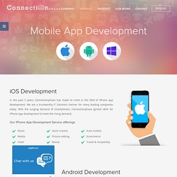Mobile, Android, iPhone Application Development Company India