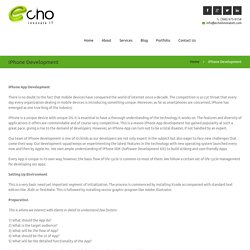 iPhone Application Development Company in Florida - echo innovate IT