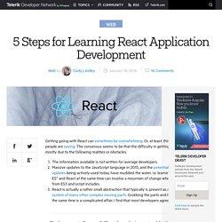5 Steps for Learning React Application Development -Telerik Developer Network