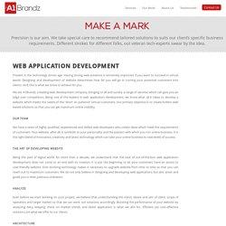 A1brandz - Custom Website Based Software Application Development