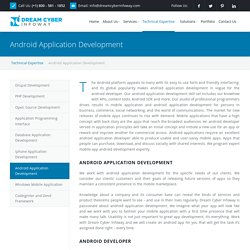 Android Application Development Company USA