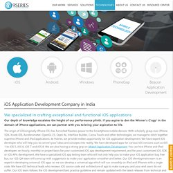 Best iPhone Application Development Company In India
