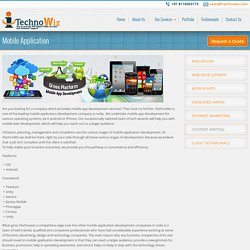 Mobile Application Development Services Australia