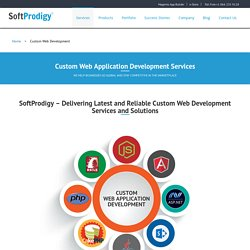 Dynamic Custom Web Application Development Services & Solutions