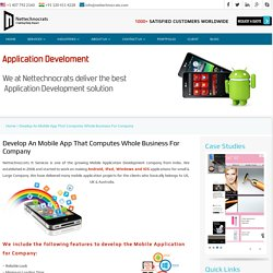 Best application development services For Your Firm