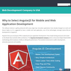Why Should You Hire AngularJS Developer
