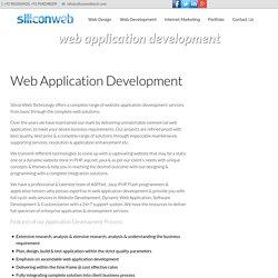 Web Application Development Company India, Web Development Services