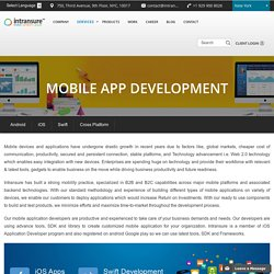 Custom iOS Mobile Application Development Services Company