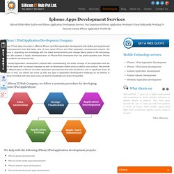 iPhone & iPad iPhone Application Development Company, iPhone Apps Developers