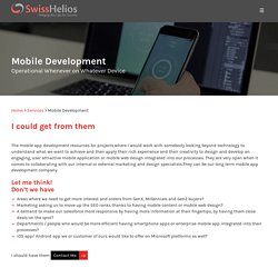 Mobile Application Development Firm