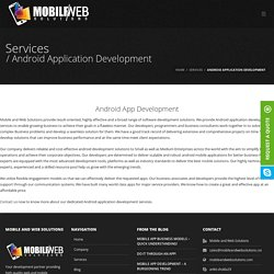App Development Agency - Mobile and Web Solutions