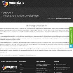 Iphone Mobile Application Development -Mobile and Web Solution