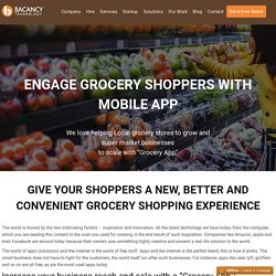 Grocery Application Development Company, Hire App Developer