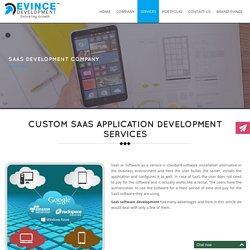 Custom SaaS software development services