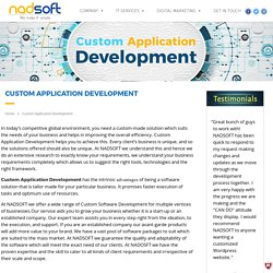 Custom Application Development Company