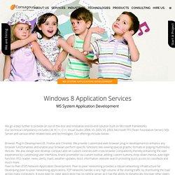MS System Application Development - Consagous