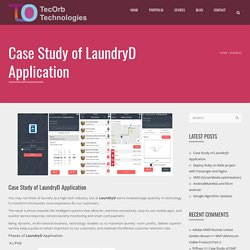 Case Study of LaundryD Application
